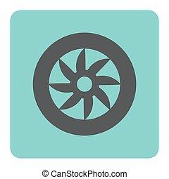 wheel car icon