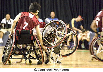Wheel Chair Basketball for Disabled - Wheel chair basketball...