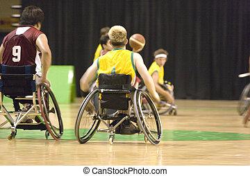 Wheel Chair Basketball for Disabled - Wheel chair basketball...
