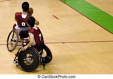 Wheel Chair Basketball for Disabled