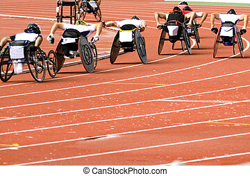 Wheel Chair Race for Disabled - Wheel chair race for ...