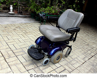Wheel Chair - Motorized orthopedic wheel chair especially...