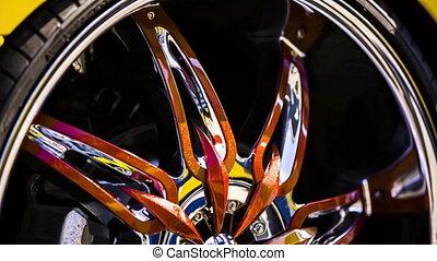 Wheel Disks Of Modern Original Design