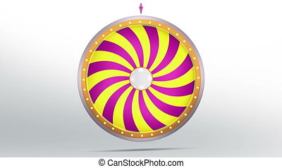 wheel fortune candy style - The wheel of fortune or Lucky...