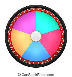wheel fortune five  black