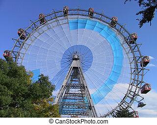 Giant wheel in Vienna