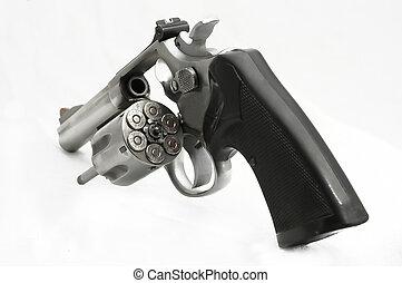 Wheel gun - revolver