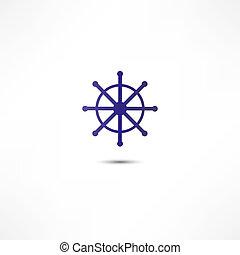 Wheel marine