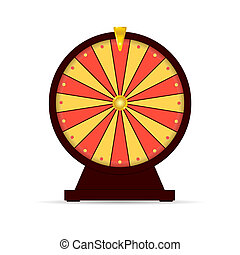 wheel of fortune gambling illustration