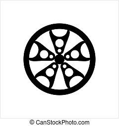 Wheel Rim Icon
