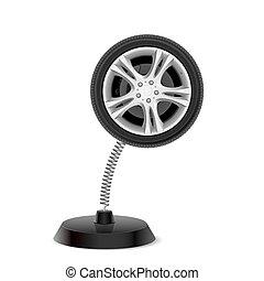 Wheel souvenir
