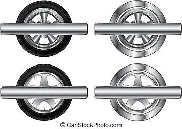 Wheel Tire and Alloy Rim Designs
