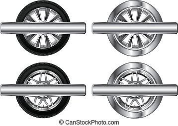 Wheel Tire and Rim Designs