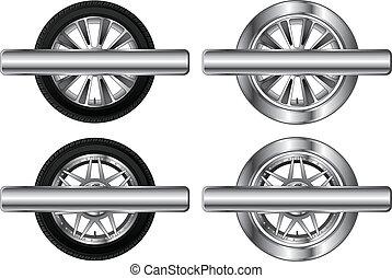 Wheel Tire and Rim Designs