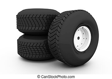 wheel., tyres, 自動車, 3, 山