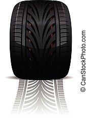 Wheel vector illustration