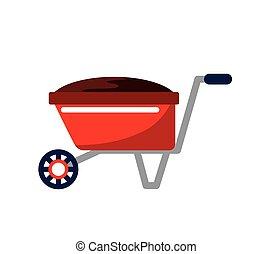 wheelbarrow icon image