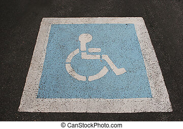 wheelchair πρόσβαση , σήμα