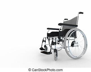 wheelchair., 3d