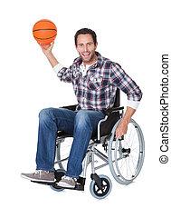 wheelchair basketball , άντραs