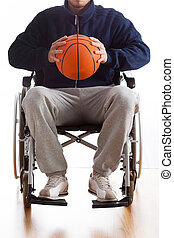 wheelchair basketball , άντραs