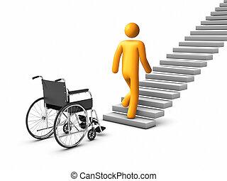 wheelchair Concept.
