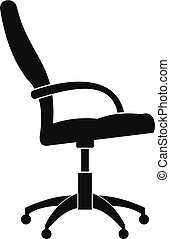 Wheelchair icon, simple style.
