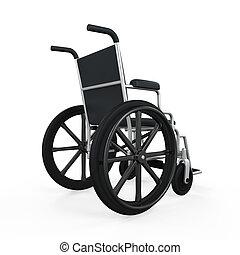 Wheelchair Isolated