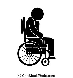 wheelchair man patient