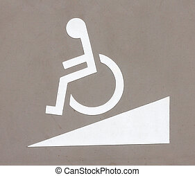 wheelchair, pictogram