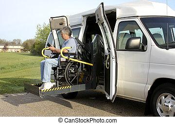 wheelchair wydźwigają