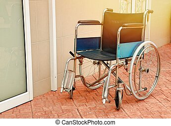 Wheelchairs in the hospital