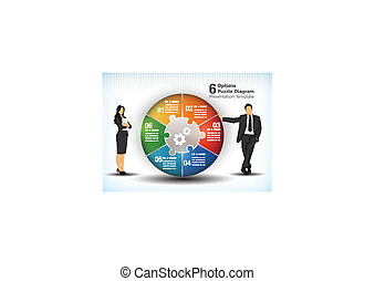 wheelchart, pris parti, business, 6