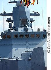 wheelhouse warship