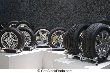 Wheels - Aluminum sport wheels