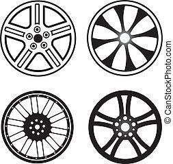 Wheels set of 4