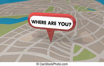 Where Are You Clip Art