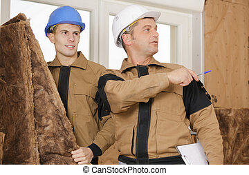 where to put wood fiber insulation boards on a wall