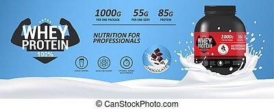 whey, σημαία , διατροφή , αγώνισμα , mockup, πρωτεΐνη