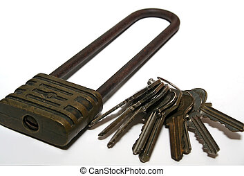 Which Key? - Which key to unlock the padlock?