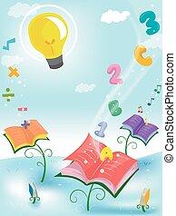 Whimsical Books Plant Education