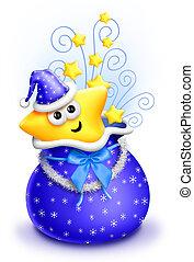 Whimsical Cartoon Cute Star