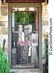 A Whimsical Front Entrance Door