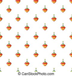 Whirligig pattern, cartoon style
