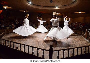 Whirling dervishes - Photo of dervish ceremony