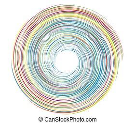 Whirlpool carnival vector