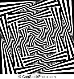 whirlpool, desenho, ilusão, fundo, movimento