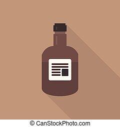 Whiskey flat icon