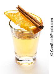 whiskey, skott