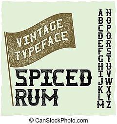 latin alphabet alcool vendange boisson typeface vecteurs search clip art. Black Bedroom Furniture Sets. Home Design Ideas